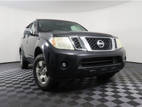 Super Black 2008 Nissan Pathfinder LE 4x4