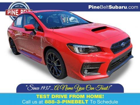 Pure Red 2020 Subaru WRX Limited