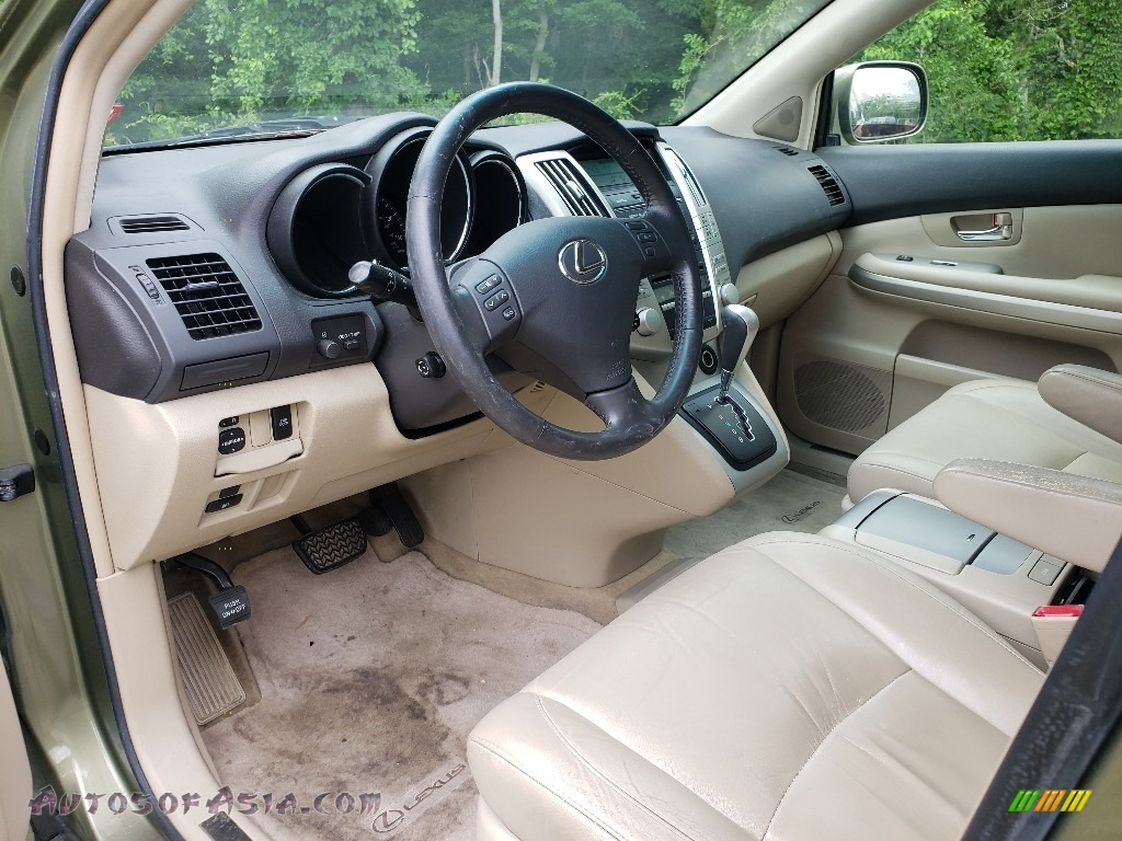 2008 RX 400h AWD Hybrid - Desert Sage Metallic / Ivory photo #15