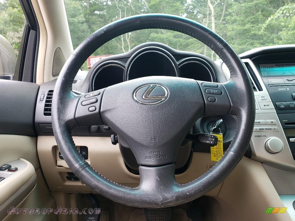 2008 RX 400h AWD Hybrid - Desert Sage Metallic / Ivory photo #22