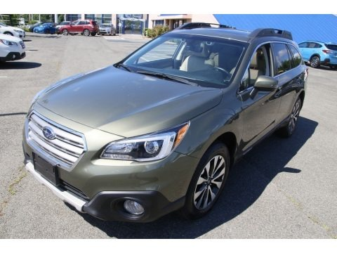 Wilderness Green Metallic 2017 Subaru Outback 2.5i Limited