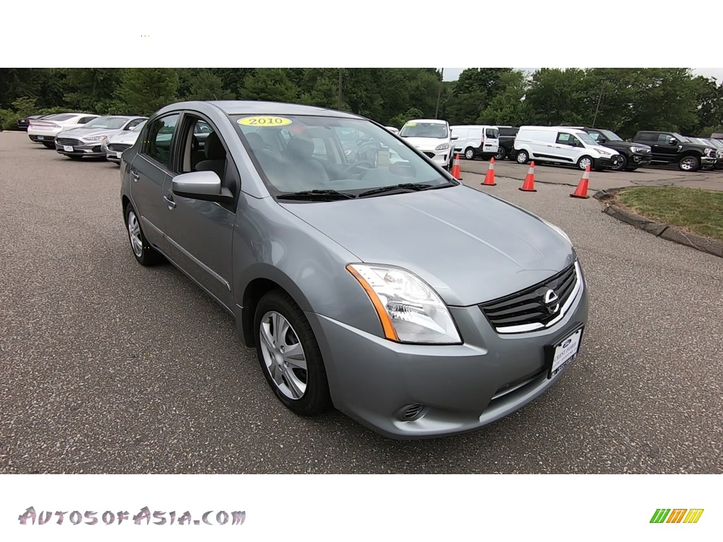 2010 Sentra 2.0 S - Magnetic Gray Metallic / Charcoal photo #1