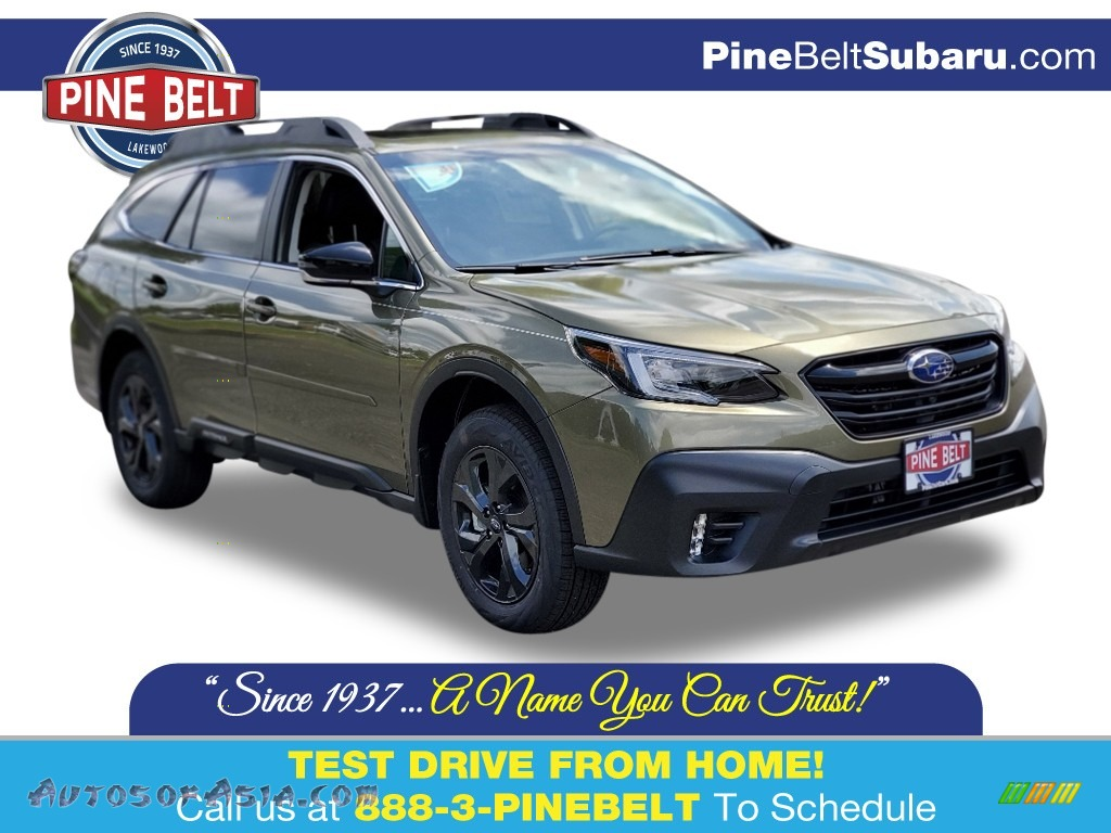 2020 Outback Onyx Edition XT - Autumn Green Metallic / Gray StarTex photo #1
