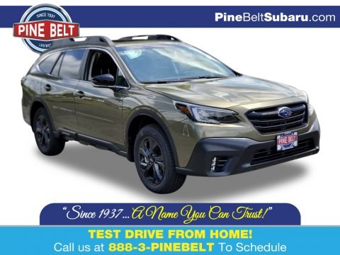Autumn Green Metallic 2020 Subaru Outback Onyx Edition XT