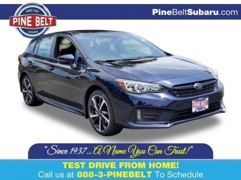 Dark Blue Pearl 2020 Subaru Impreza Sport 5-Door