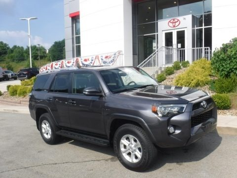 Magnetic Gray Metallic 2017 Toyota 4Runner SR5 Premium 4x4
