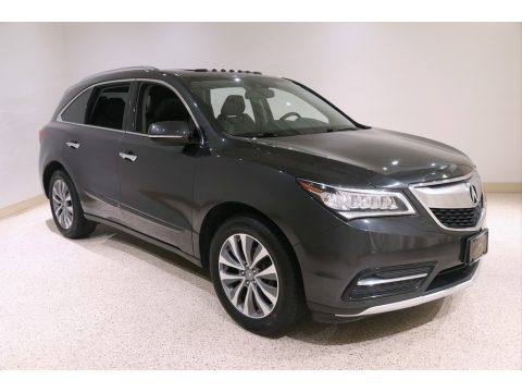Graphite Luster Metallic 2015 Acura MDX SH-AWD Technology