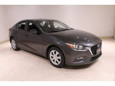 Machine Gray Metallic 2017 Mazda MAZDA3 Sport 4 Door