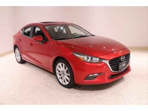 Soul Red Metallic 2017 Mazda MAZDA3 Touring 4 Door