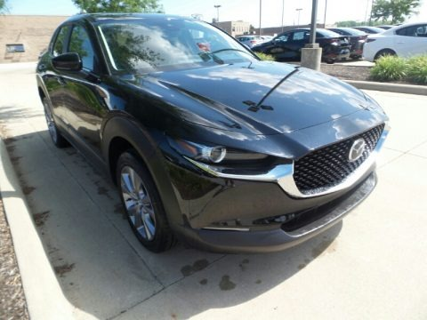 Jet Black Mica 2020 Mazda CX-30 Preferred AWD