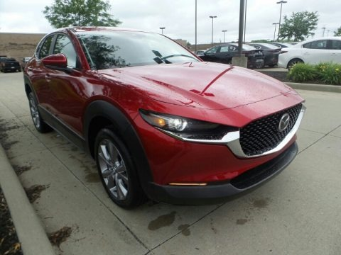 Soul Red Crystal Metallic 2020 Mazda CX-30 Preferred AWD