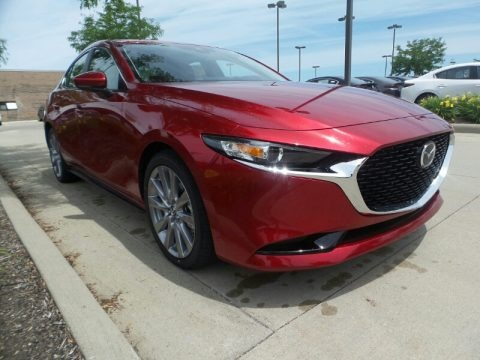 Soul Red Crystal Metallic 2020 Mazda MAZDA3 Preferred Sedan AWD