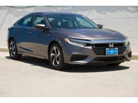 Modern Steel Metallic 2021 Honda Insight LX