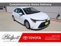 Toyota Corolla L Super White photo #1