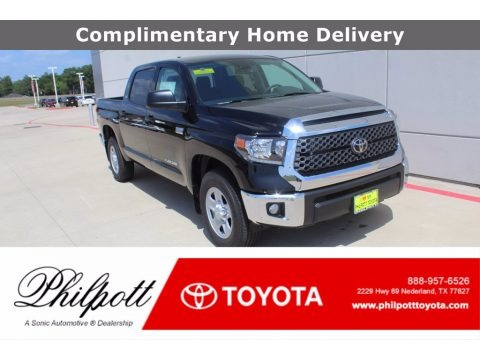 Midnight Black Metallic 2020 Toyota Tundra TSS Off Road CrewMax