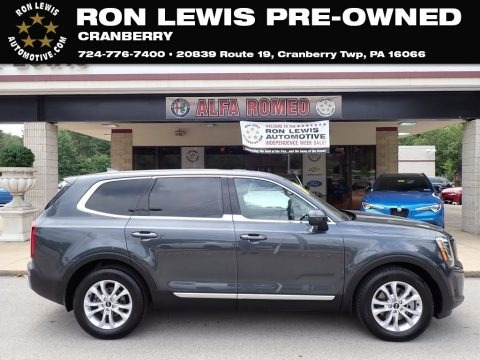 Gravity Grey 2020 Kia Telluride LX AWD