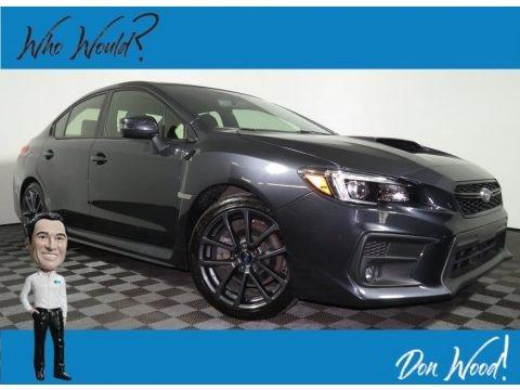 Dark Gray Metallic 2018 Subaru WRX Limited
