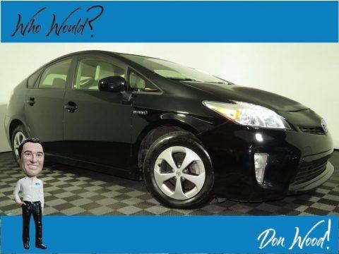 Black 2015 Toyota Prius Two Hybrid