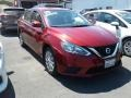 Nissan Sentra SV Red Alert photo #1