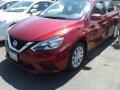 Nissan Sentra SV Red Alert photo #2