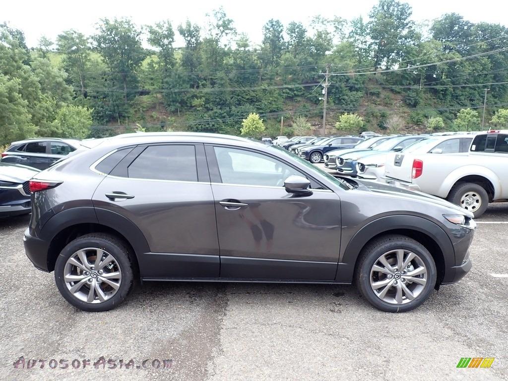 2020 CX-30 Premium AWD - Machine Gray Metallic / Black photo #1