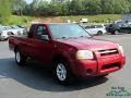 Nissan Frontier XE King Cab Red Brawn Metallic photo #7