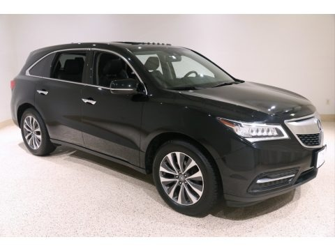 Crystal Black Pearl 2016 Acura MDX SH-AWD Technology