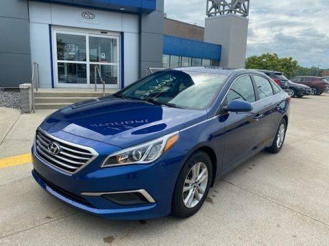 Lakeside Blue 2017 Hyundai Sonata SE