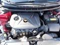 Kia Forte LX Sedan Crimson Red photo #2