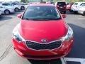 Kia Forte LX Sedan Crimson Red photo #3