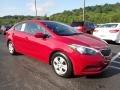 Kia Forte LX Sedan Crimson Red photo #4
