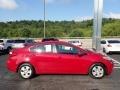 Kia Forte LX Sedan Crimson Red photo #5