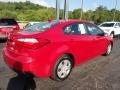 Kia Forte LX Sedan Crimson Red photo #10