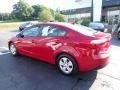 Kia Forte LX Sedan Crimson Red photo #12