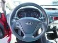 Kia Forte LX Sedan Crimson Red photo #23