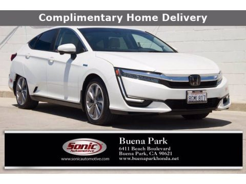 Platinum White Pearl 2018 Honda Clarity Plug In Hybrid