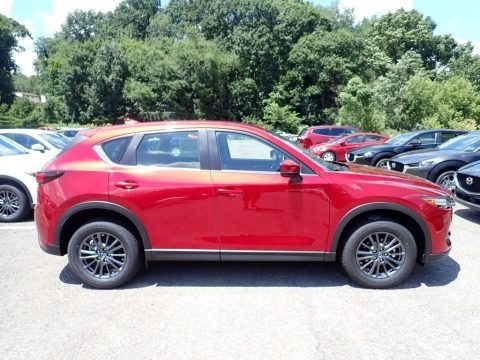 Soul Red Crystal Metallic 2020 Mazda CX-5 Sport AWD