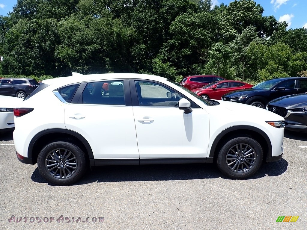 2020 CX-5 Sport AWD - Snowflake White Pearl / Black photo #1