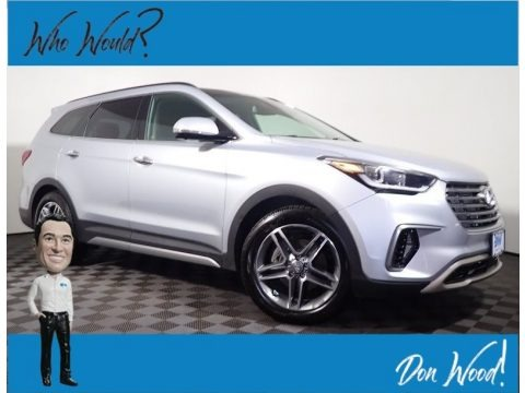 Circuit Silver 2017 Hyundai Santa Fe Limited Ultimate AWD