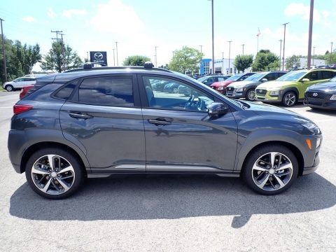 Thunder Gray 2021 Hyundai Kona Ultimate AWD