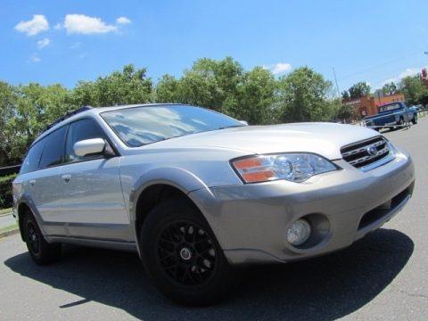 Brilliant Silver Metallic 2006 Subaru Outback 2.5i Limited Wagon