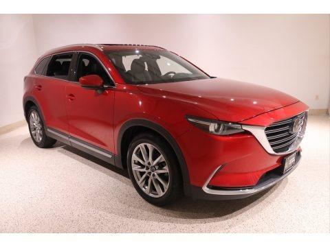 Soul Red Metallic 2017 Mazda CX-9 Grand Touring AWD