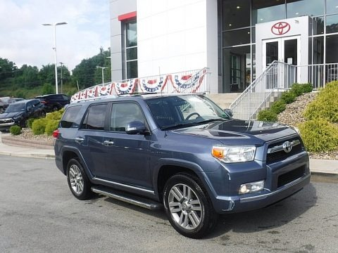 Shoreline Blue Pearl 2011 Toyota 4Runner Limited 4x4