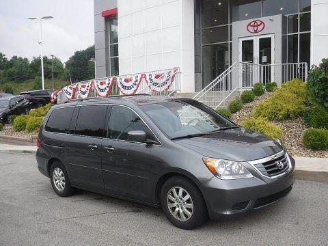 Slate Green Metallic 2010 Honda Odyssey EX-L