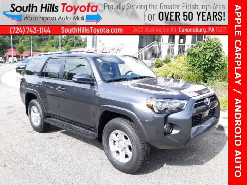 Magnetic Gray Metallic 2020 Toyota 4Runner SR5 Premium 4x4