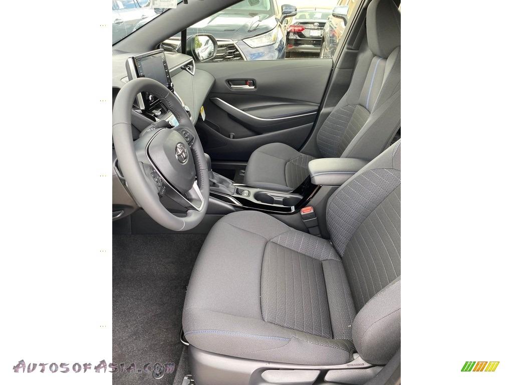 2021 Corolla SE - Blueprint / Black photo #2