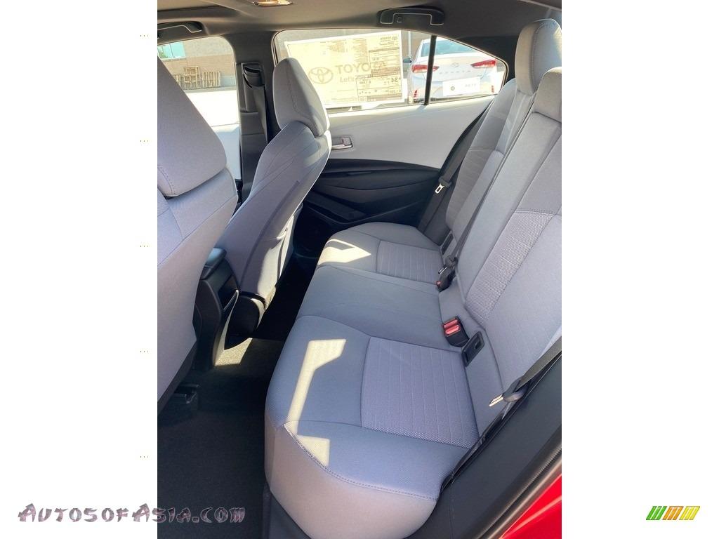 2021 Corolla SE - Barcelona Red Metallic / Light Gray/Moonstone photo #3