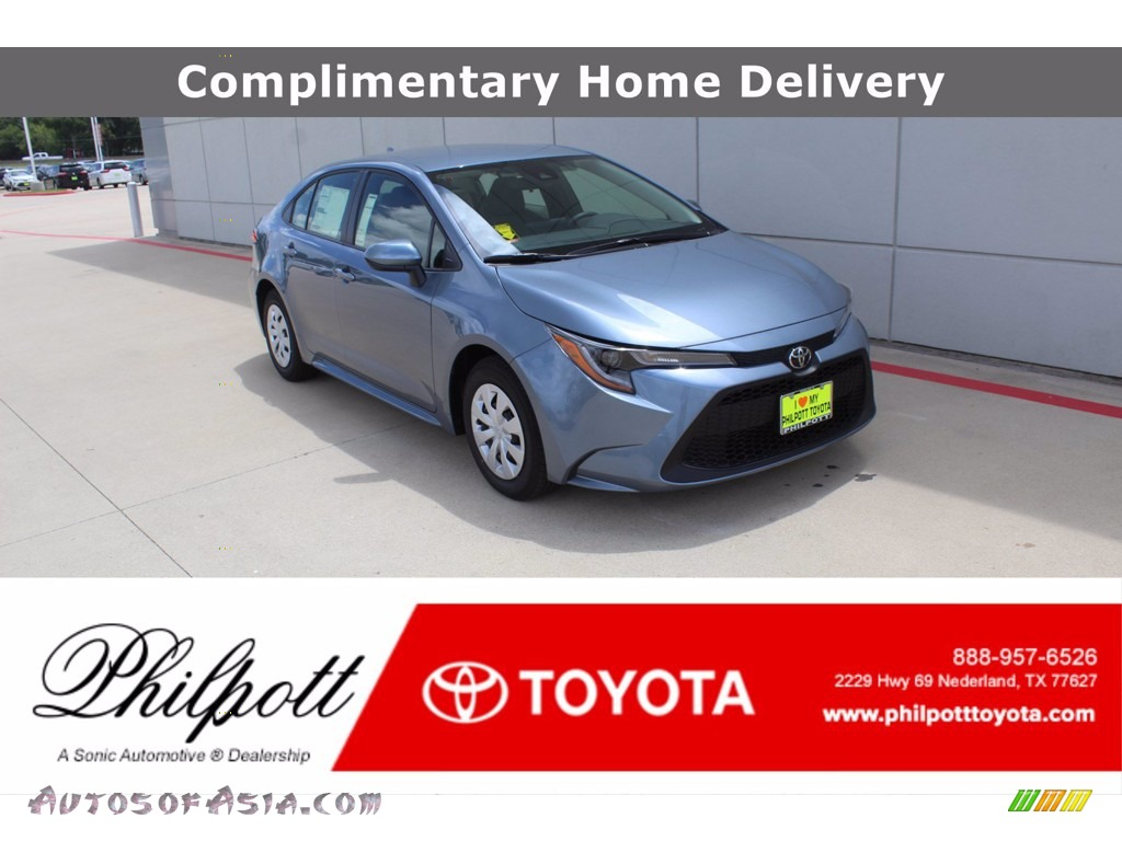Celestite Gray Metallic / Light Gray/Moonstone Toyota Corolla L