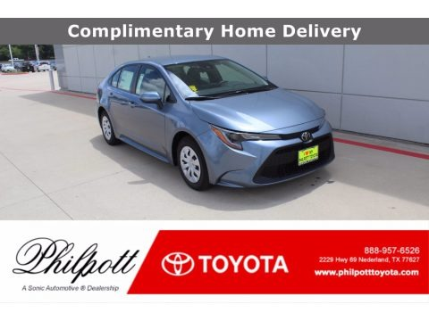 Celestite Gray Metallic 2021 Toyota Corolla L