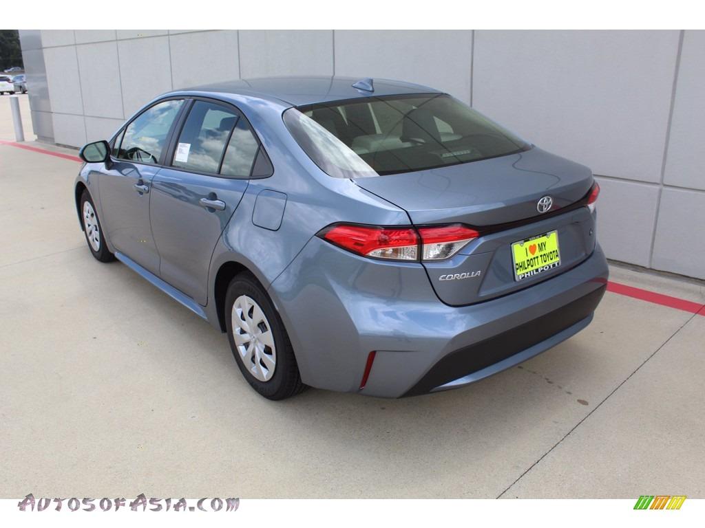 2021 Corolla L - Celestite Gray Metallic / Light Gray/Moonstone photo #6